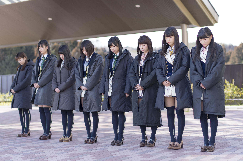 2015年3月11日 宮城県石巻市にて。佐藤朱(左から2番目)