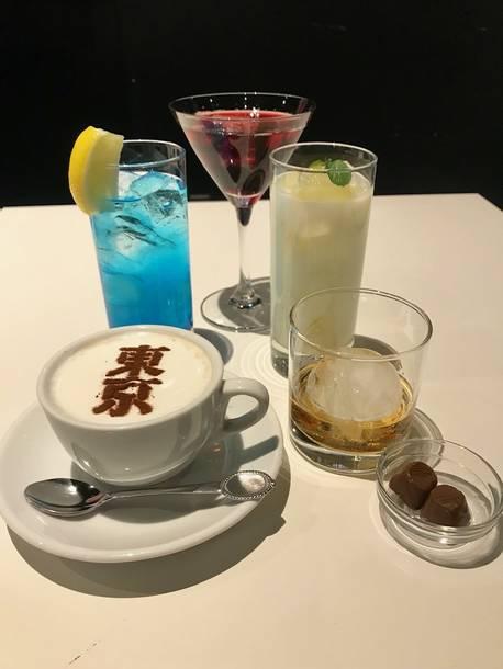 スペシャルカフェ『UTAIYA RECORDS CAFE』メニュー