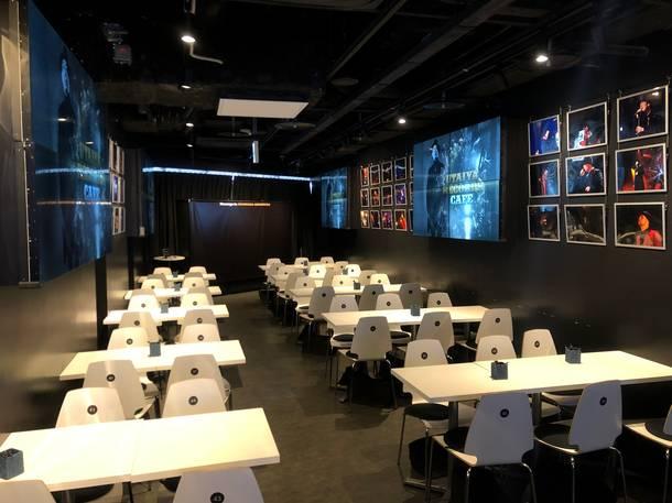 スペシャルカフェ『UTAIYA RECORDS CAFE』スペース