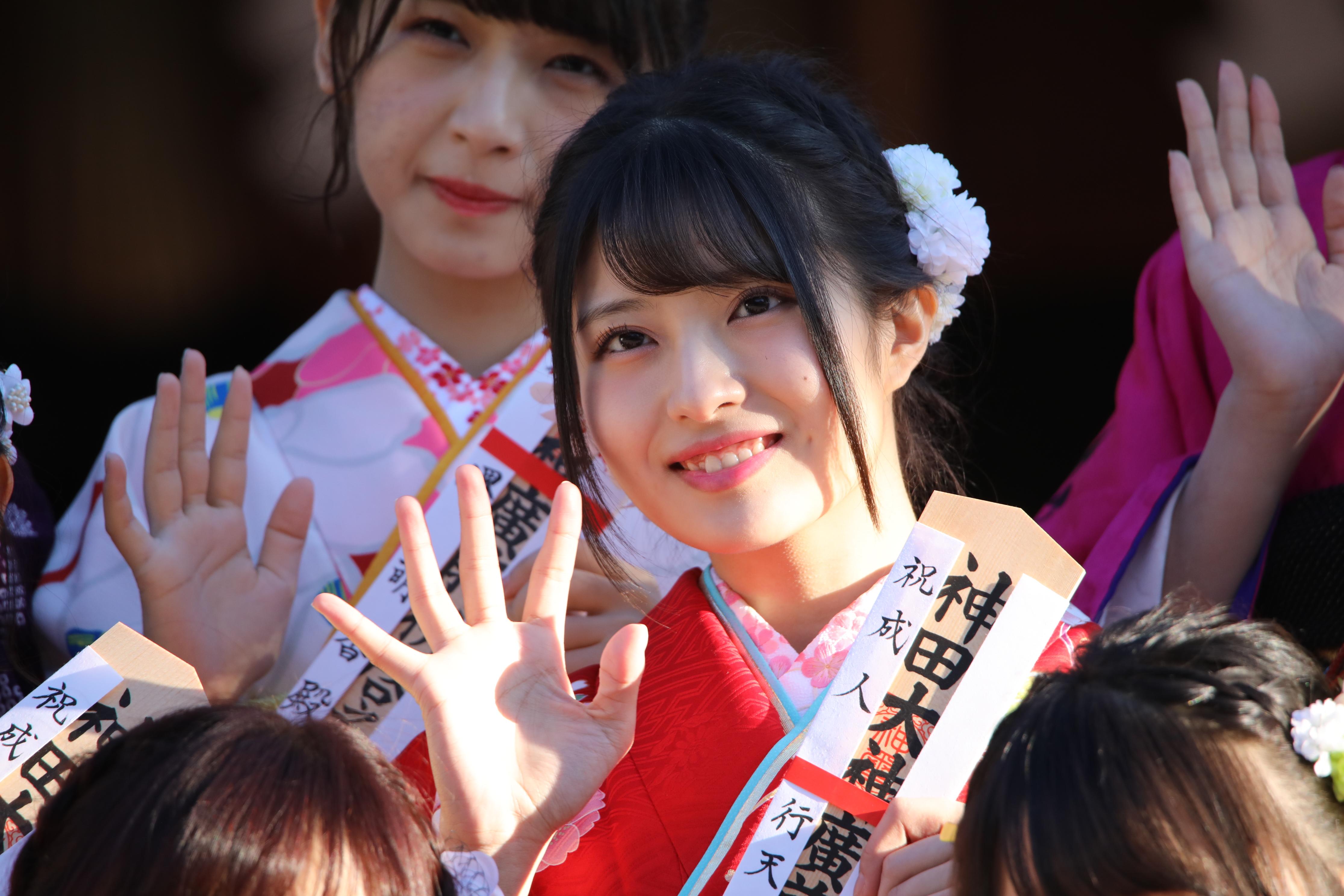 AKB48グループ成人式での行天優莉奈