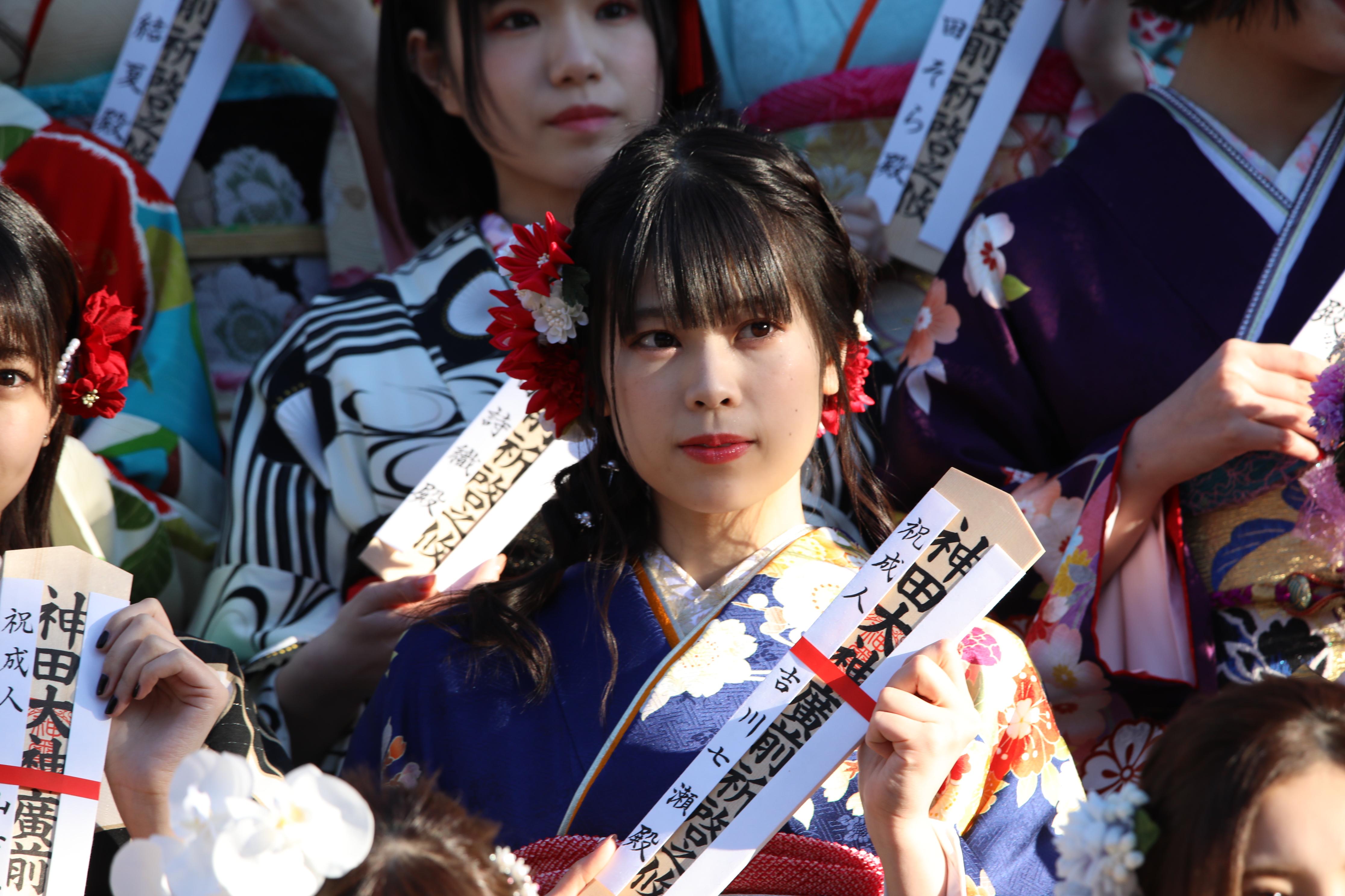 AKB48グループ成人式での吉川七瀬