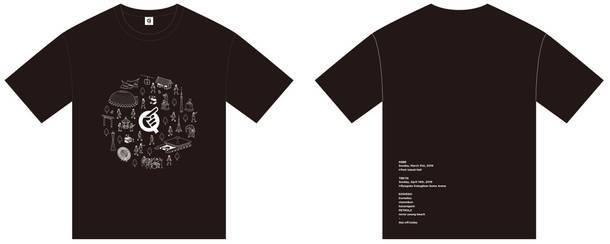 『Q』オフィシャルグッズ Qシャツ(黒Q)(Tシャツ)
