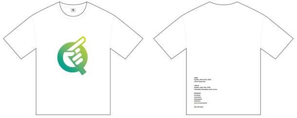 『Q』オフィシャルグッズ Qシャツ(白Q)(Tシャツ)