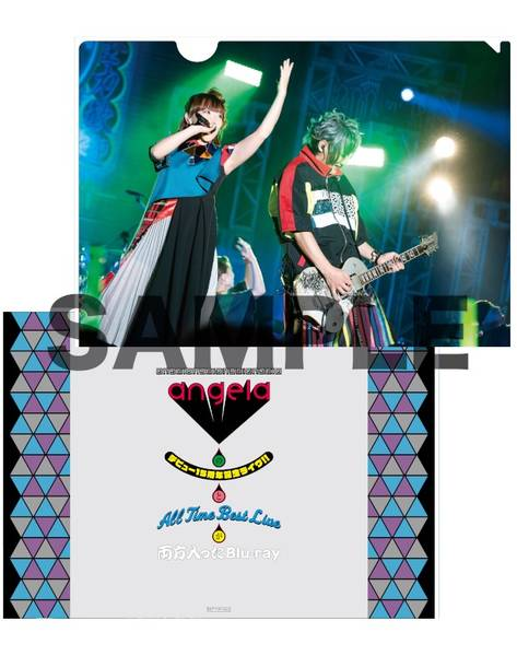 Blu-ray『angelaのデビュー15周年記念ライヴ!!とAll Time Best Liveが両方入ったBlu-ray』オリジナル特典【アニメイト:A4クリアファイル】