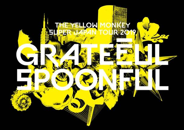 『THE YELLOW MONKEY SUPER JAPAN TOUR 2019 –GRATEFUL SPOONFUL』ロゴ