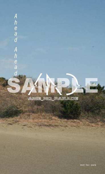 シングル「Ahead Ahead」オリジナル特典:TSUTAYA RECORDS 全国各店 / TSUTAYA オンラインショッピング限定特典