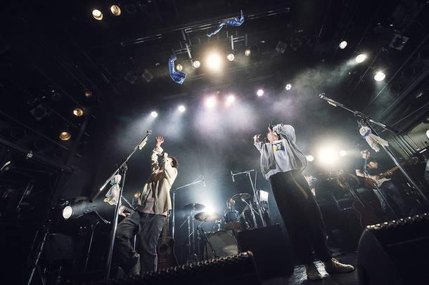 4月6日@渋谷WWW(さくらしめ) Photo by ハヤシサトル