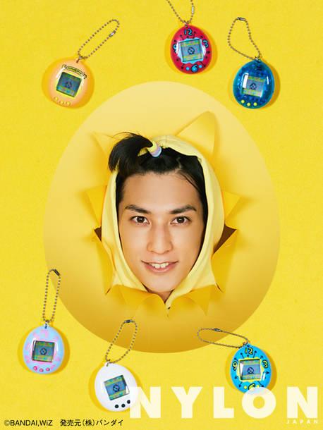 ユースケ NYLON JAPAN15周年企画第一弾