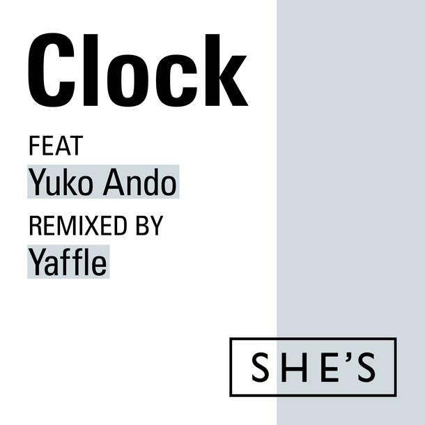 配信楽曲「 Clocl feat.安藤裕子 Remix by Yaffle」
