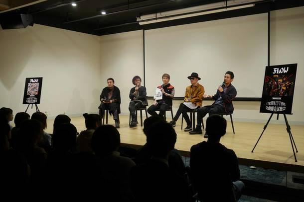 4月13日@『メンバー生解説「TRIBALYTHM」爆音試聴会』