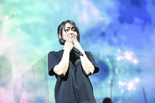 『Hikaru Utada Laughter in the Dark Tour 2018』より photo by 岸田哲平