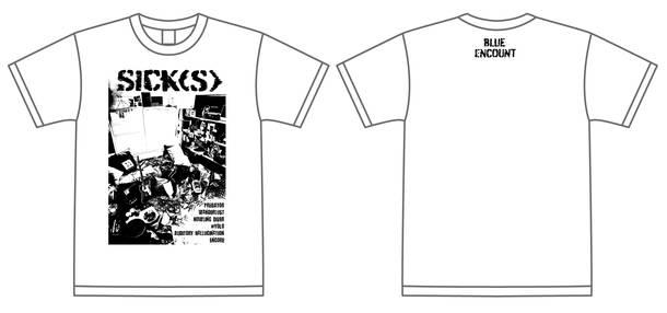 ミニアルバム『SICK(S)』完全生産限定盤Tシャツ