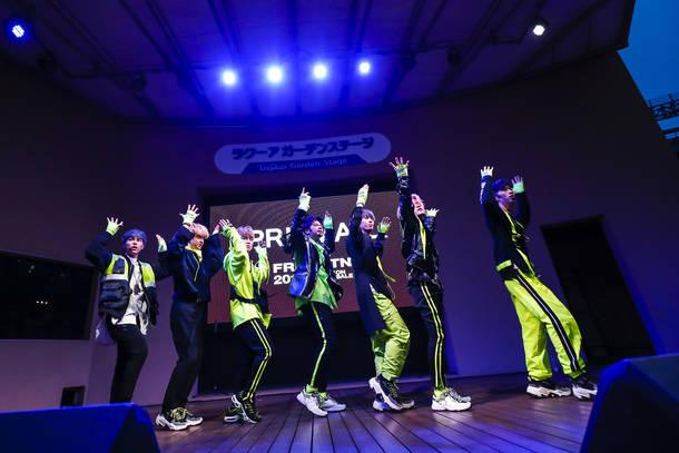 4月17日@東京ドームシティ・ラクーアガーデンステージ