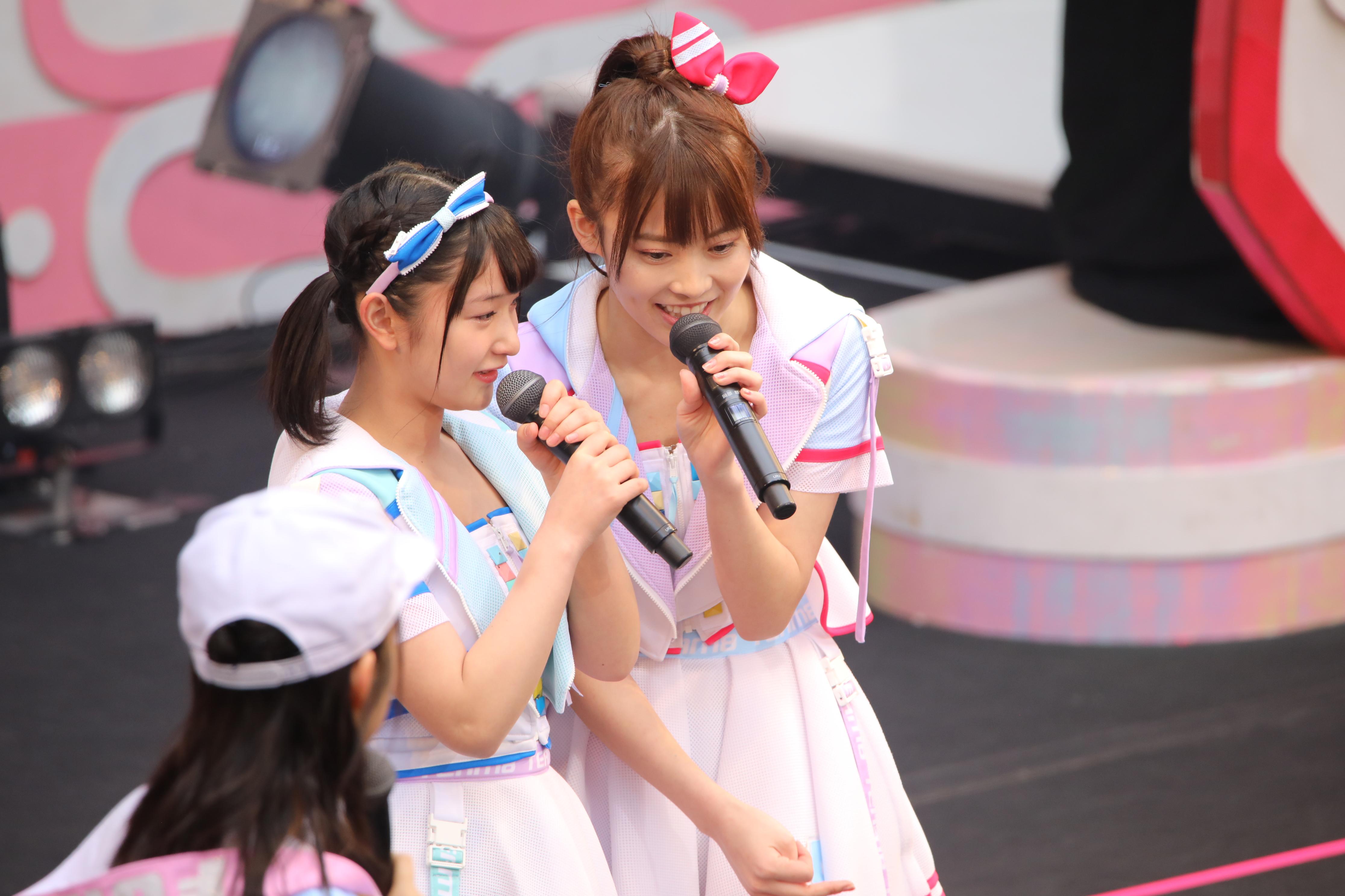 藤園麗と岡部麟「私もきゅうりが大好きなんだけど、ちなみに何のきゅうりが好き?」