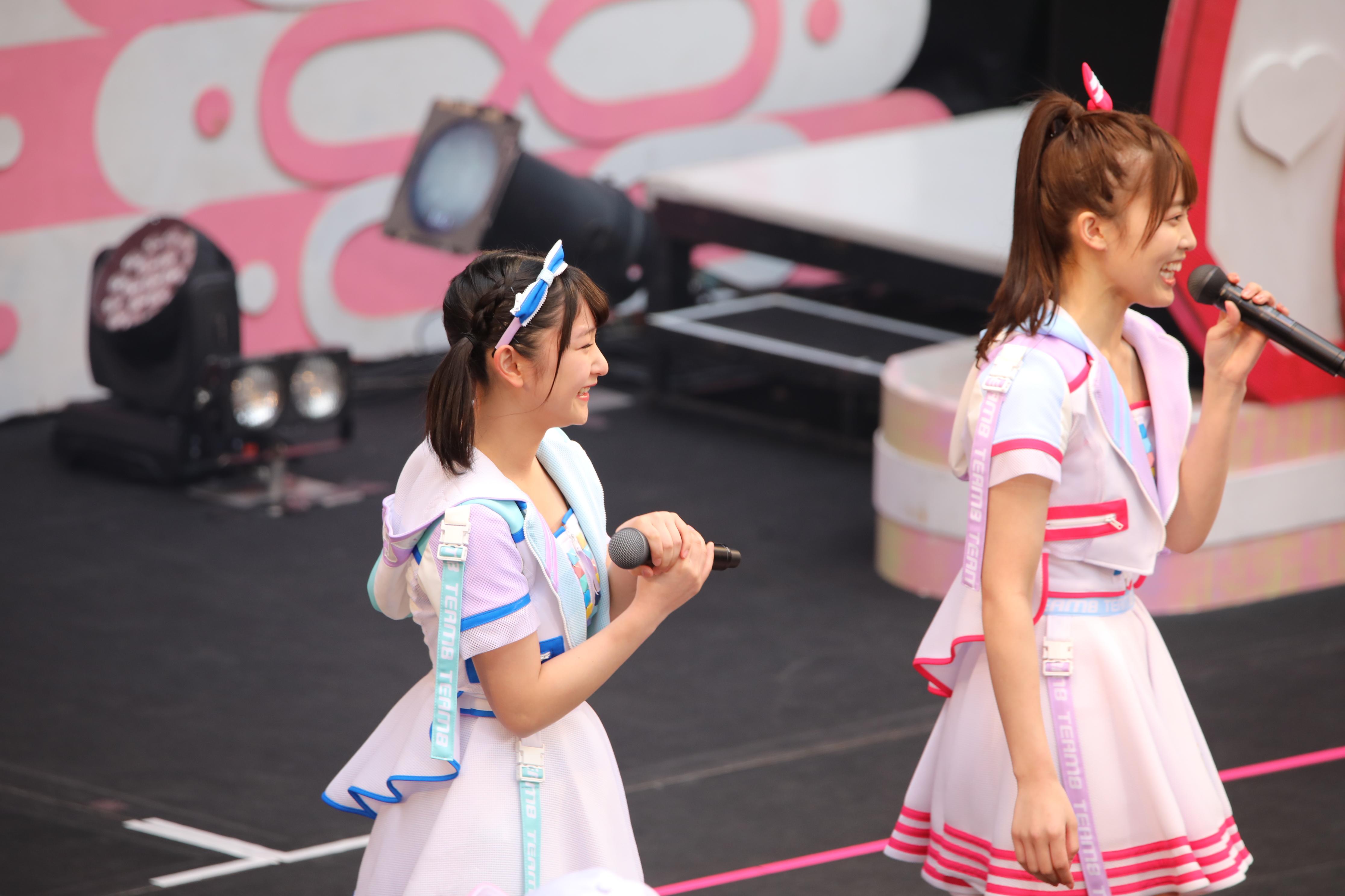 藤園麗と岡部麟「じゃあ、きゅうりのキャラクター半分こしようか!?」