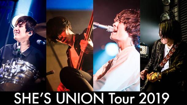『SHE'S UNION Tour 2019』