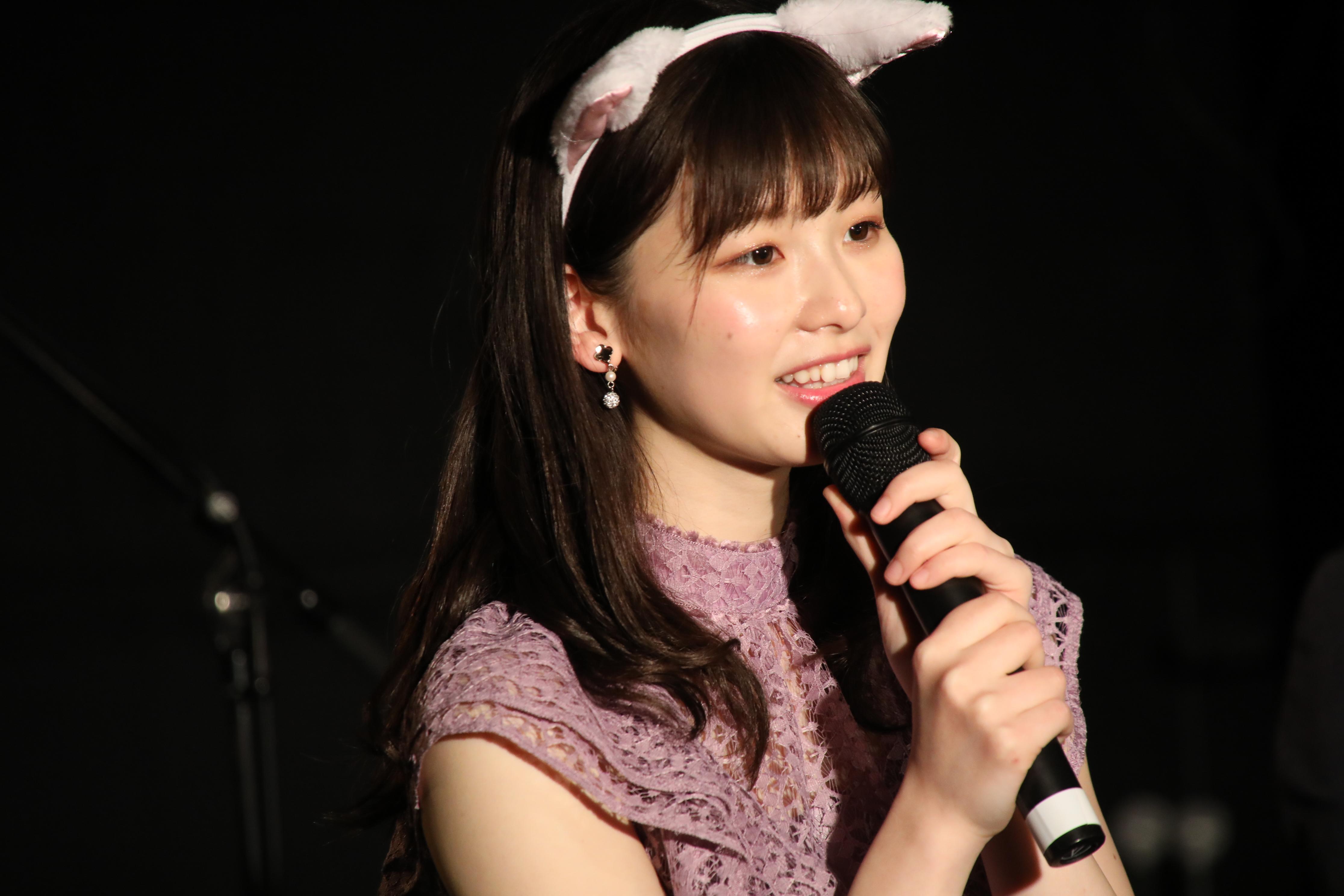最後にファンに感謝を伝える浅井七海