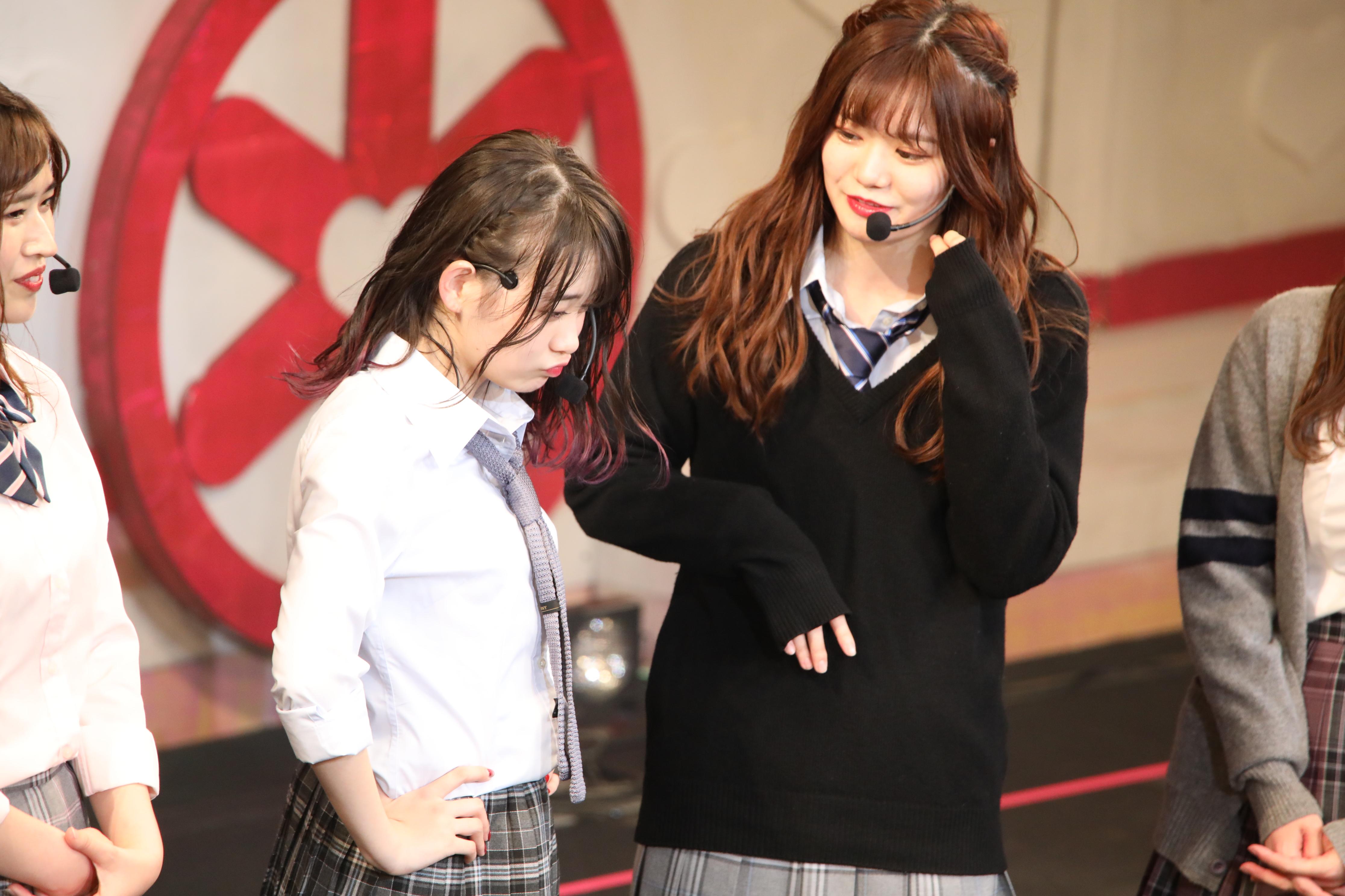 チーム8結成5周年コンサートでの中野郁海