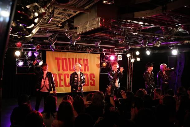 4月24日@東京・タワーレコード渋谷店B1F CUTUP STUDIO