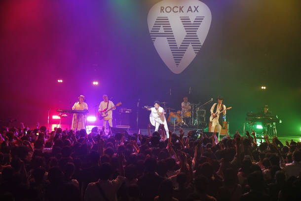 4月18日@『ROCK AX  Vol.2』(HY)