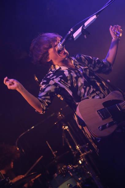 4月29日@東京・渋谷CLUB QUATTRO photo by watanabe'kool'syo