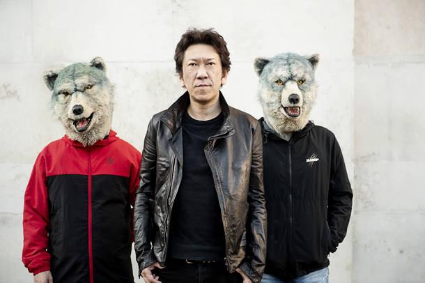 布袋寅泰+ジャンケン・ジョニー+カミカゼ・ボーイ(MAN WITH A MISSION)