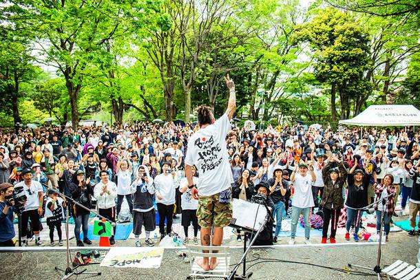 5月4日@戸越公園 photo by OKUTO