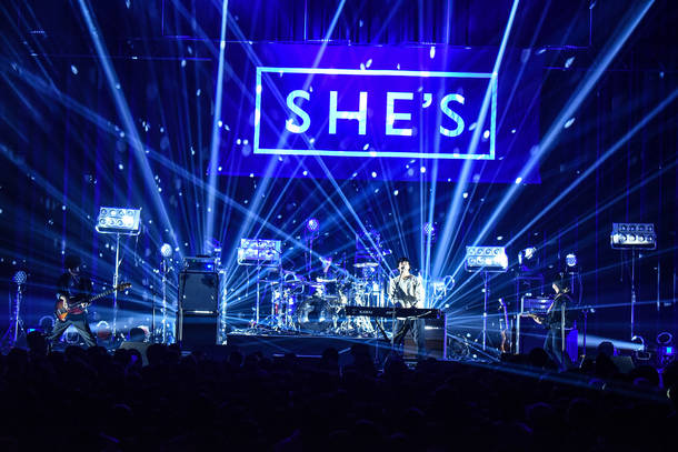 【SHE'S ライヴレポート】