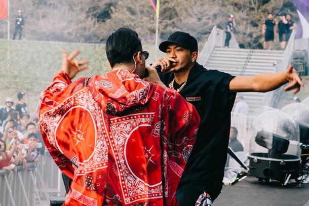 5月12日@『EDC JAPAN 2019』(AK-69、SWAY)