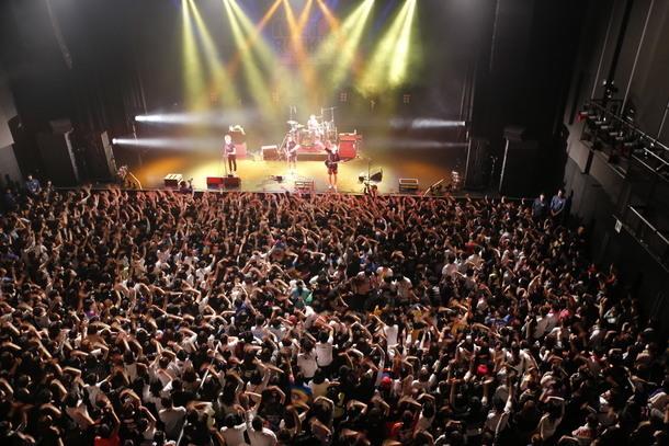 METROCK ZERO KEYTALKのライブ