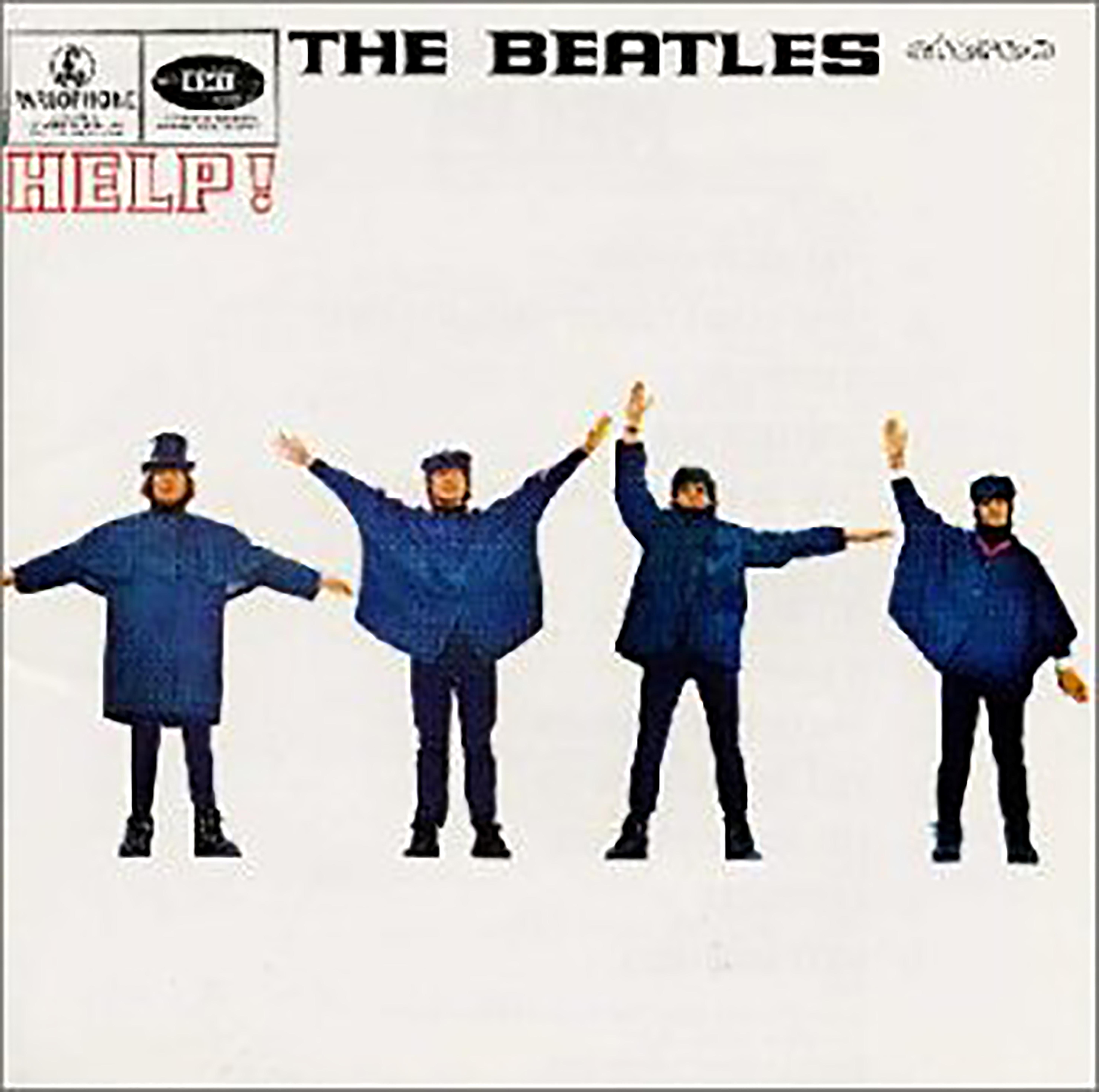 「Help!」収録アルバム『HELP! - 4人はアイドル』/The Beatles