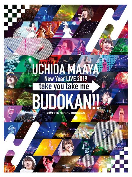 Blu-ray&DVD『UCHIDA MAAYA New Year LIVE 2019「take you take me BUDOKAN!!」』