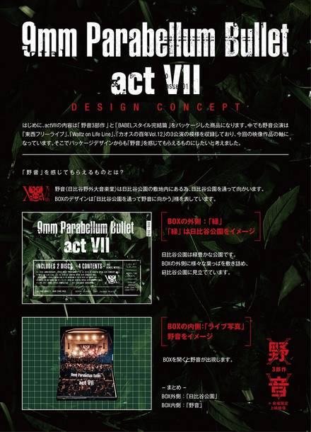 DVD&Blu-ray『act Ⅶ』説明1
