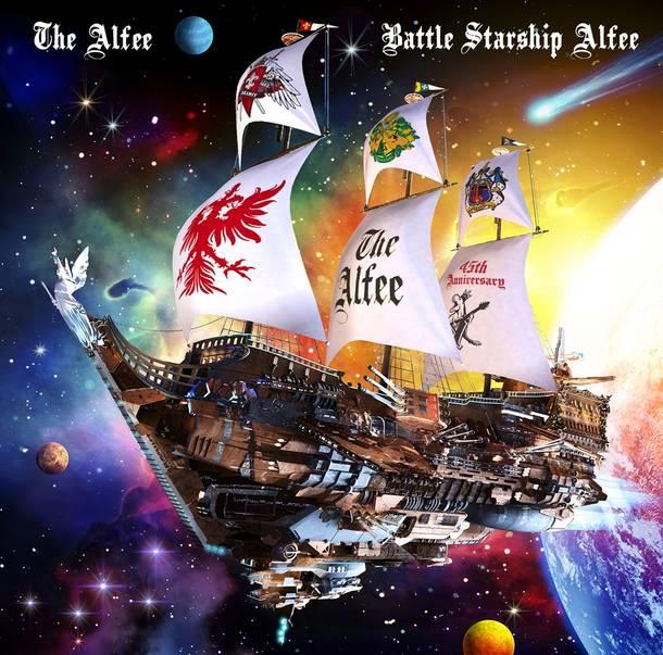 アルバム『Battle Starship Alfee』【通常盤】(CD)