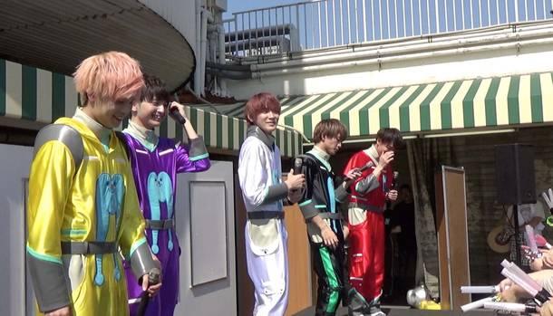 5月25日@東京・渋谷マルイ屋上