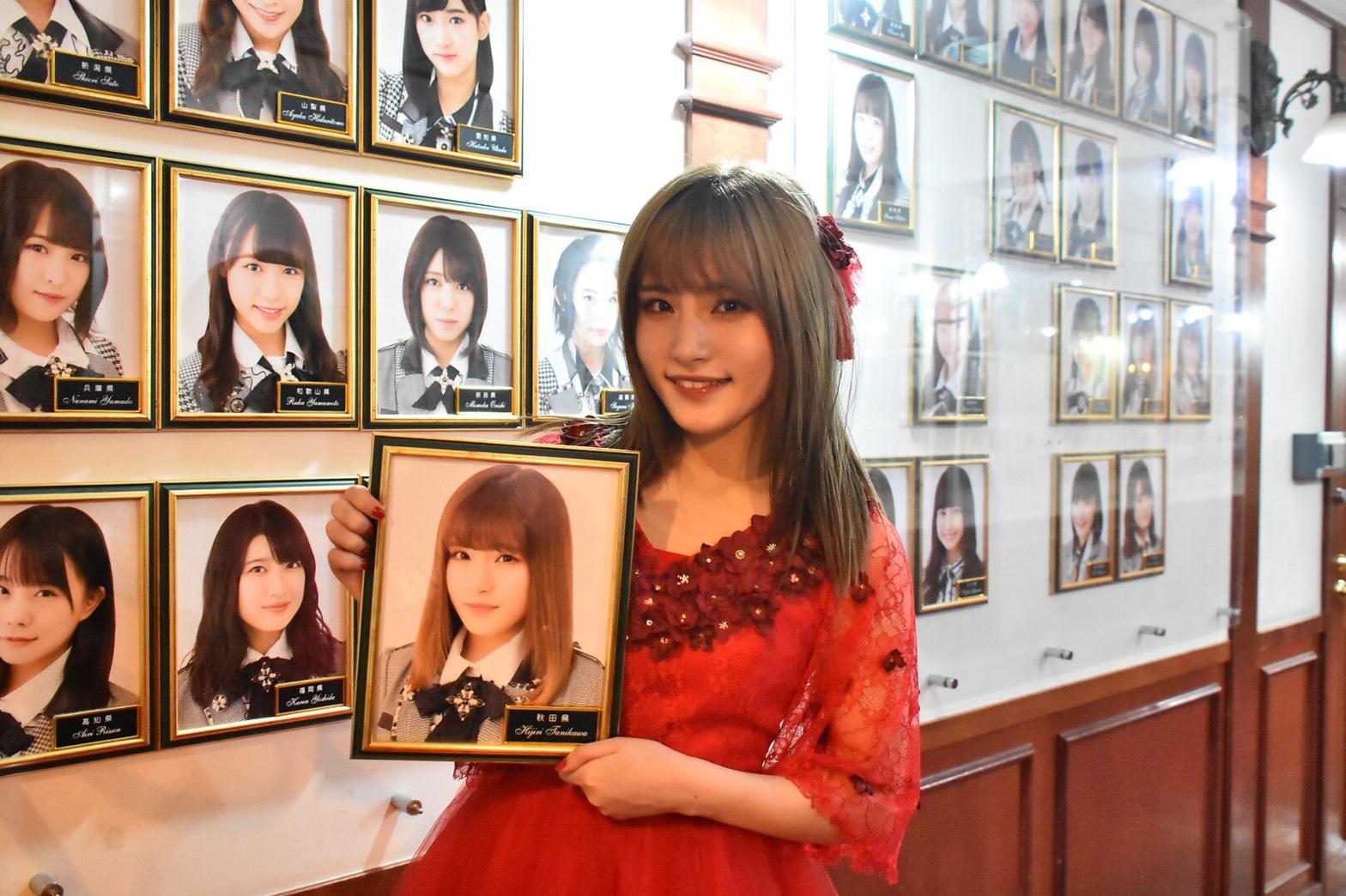 卒業公演での谷川聖  (C) AKS