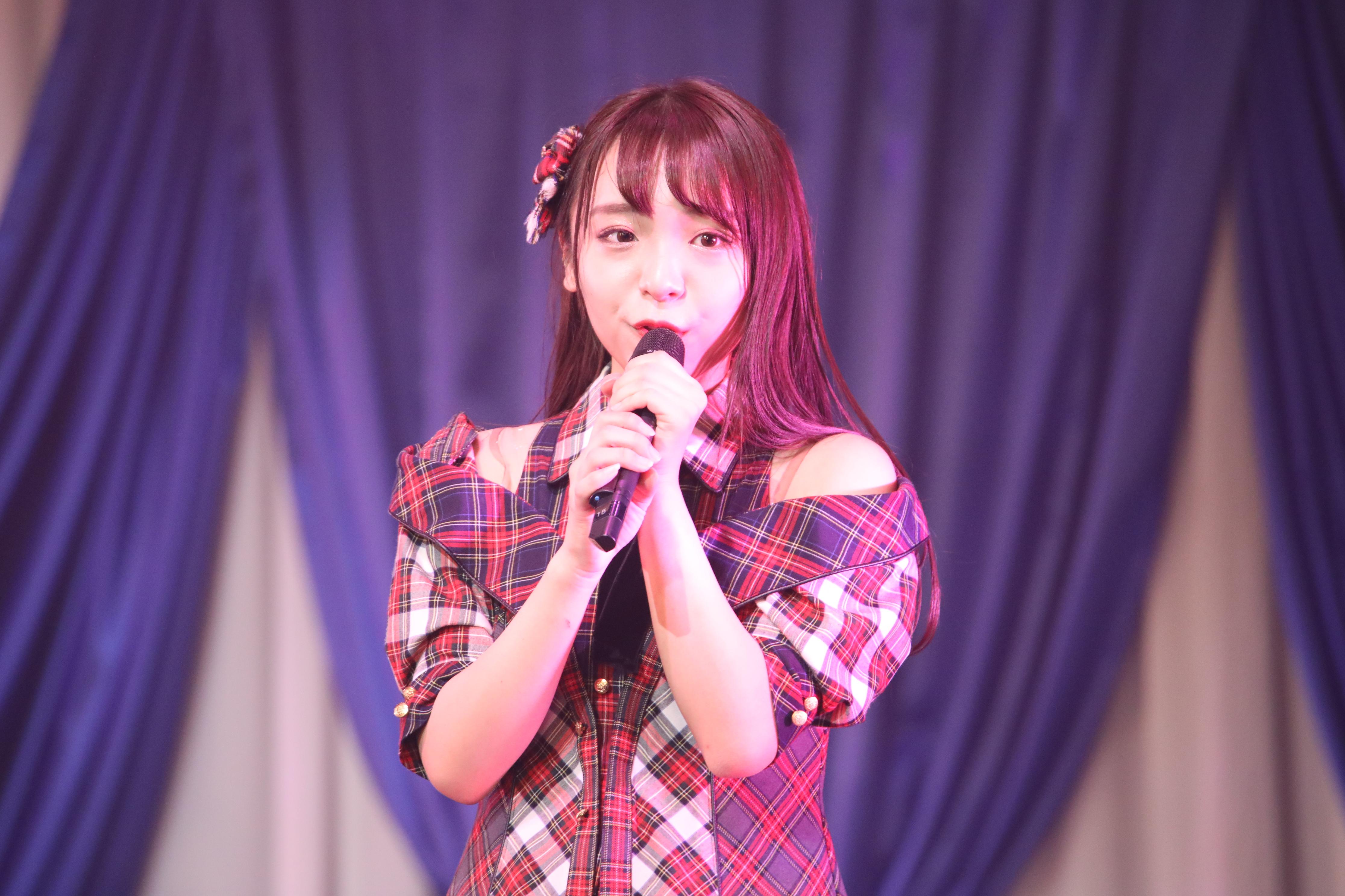 AKB48勝又彩央里(2019年1月に開催された研究生コンサート)