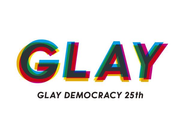 GLAY デビュー25周年ロゴ