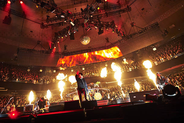 【LUNA SEA ライヴレポート】