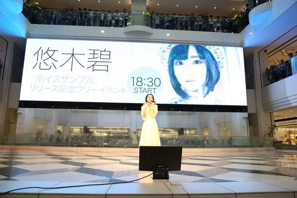 6月12日@東京・池袋サンシャインシティ噴水広場