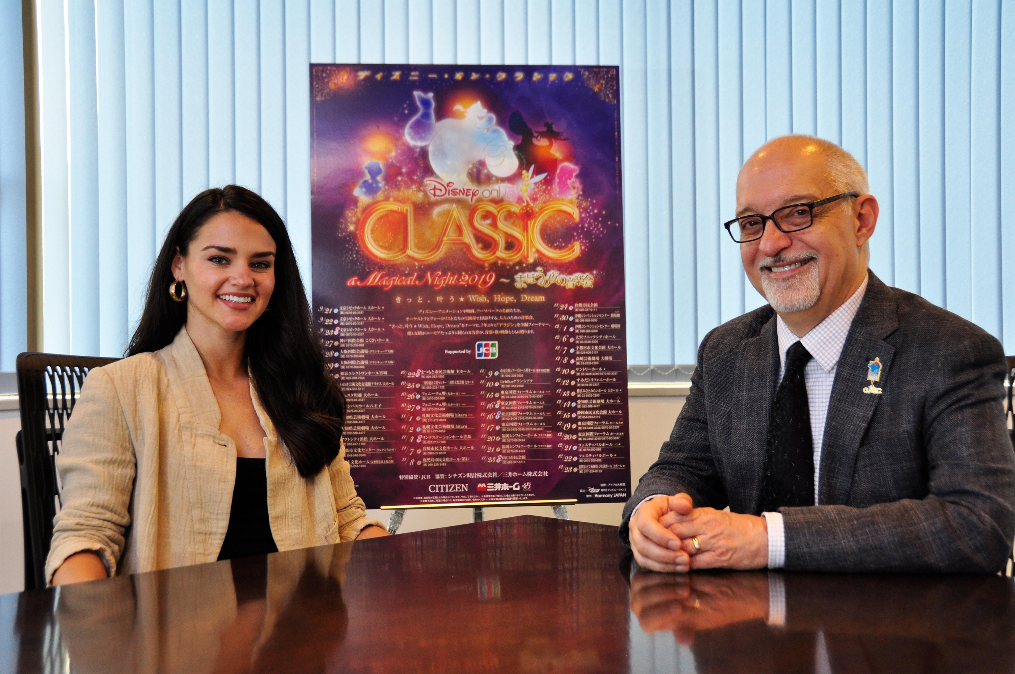 左:サンティーナ・ウンバハ 右:リチャード・カーシー