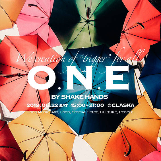 『「O.N.E」by SHAKE HANDS -Singin' in the Rain-』