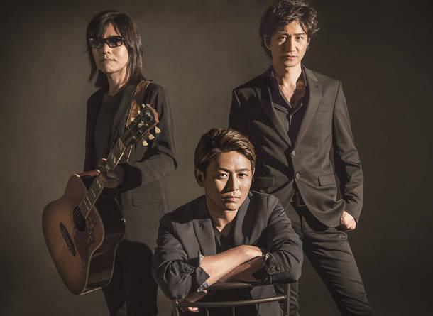 L→R 大田 紳一郎(Vo&Gu)、吉本大樹(Vo)、徳永暁人(Vo&Ba)
