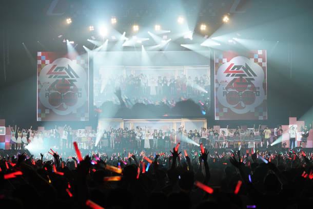 6月21日@幕張メッセ 国際展示場 9~11ホール(Line up)