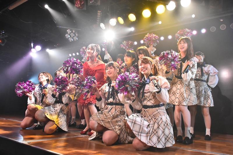 2019年6月22日にAKB48劇場にて行われたAKB48チーム8「その雫は、未来へと繋がる虹となる。」山田菜々美卒業公演