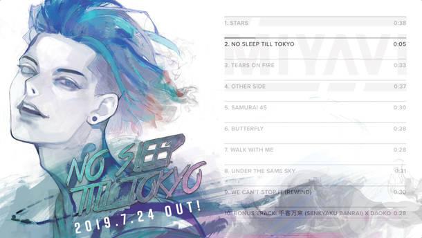 アルバム『NO SLEEP TILL TOKYO』全曲試聴映像
