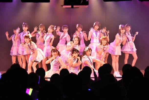 AKB48チーム8「その雫は、未来へと繋がる虹となる。」公演 小栗有以(センター)