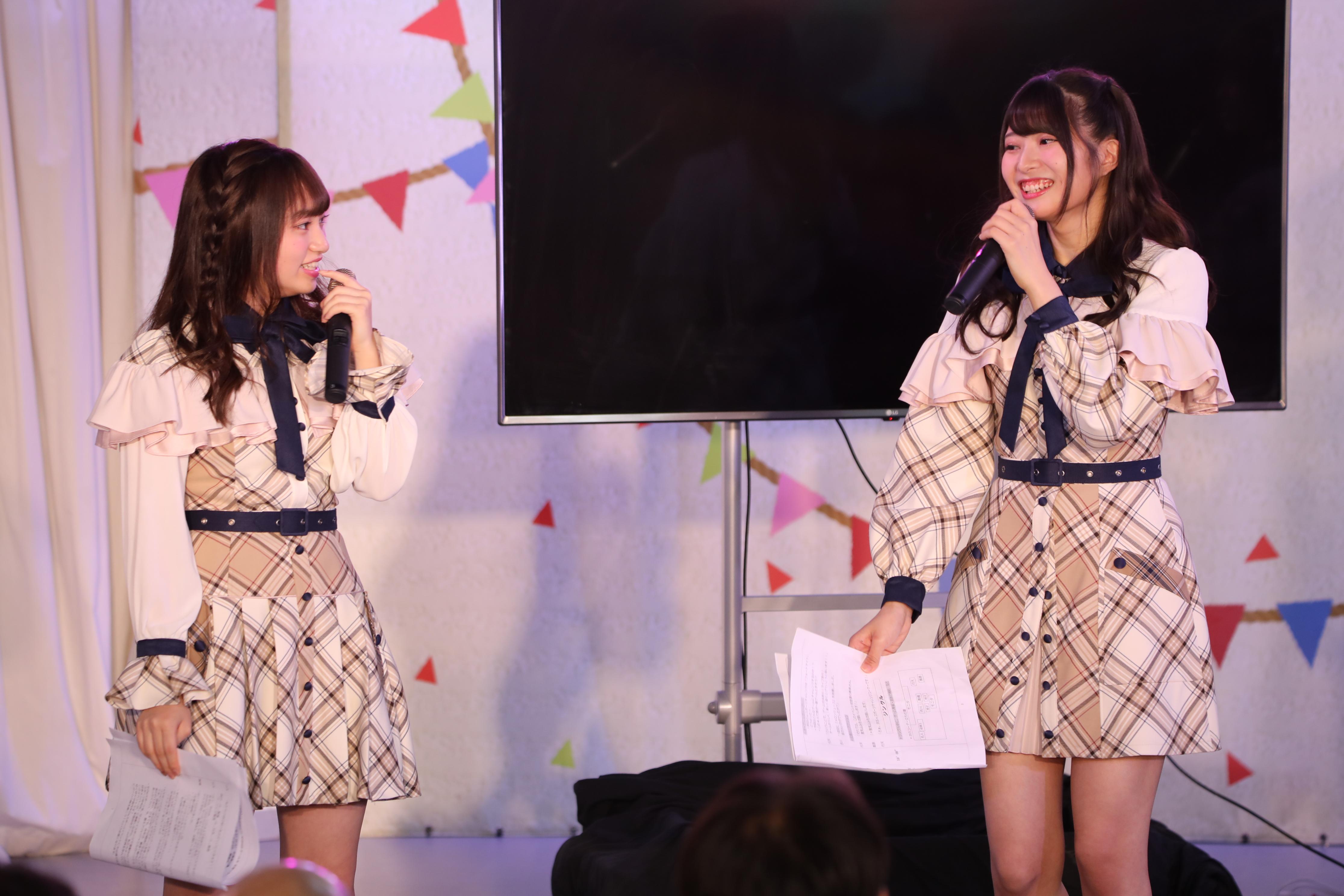 奥原妃奈子「香川さんには勝てそう!」行天優莉奈「香川さん?どういうこと?」