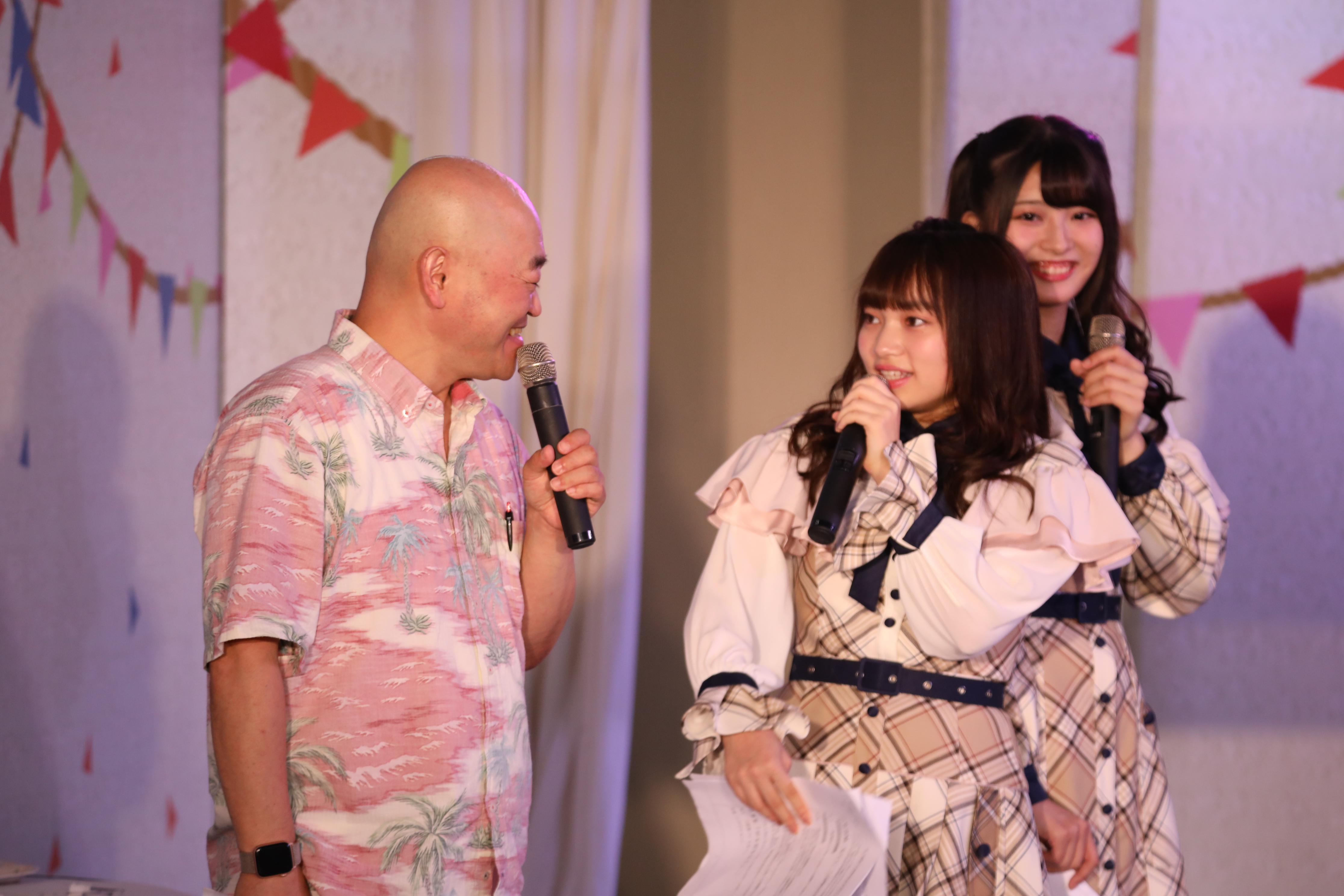 高橋名人、奥原妃奈子「私もびっくりしましたよ!」
