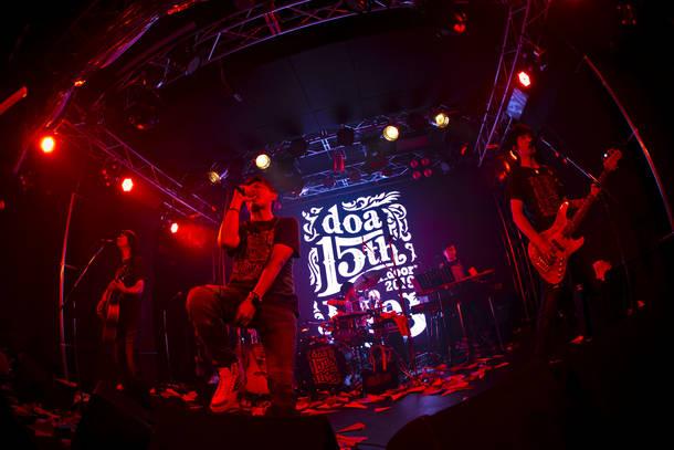 "【doa ライヴレポート】 『doa 15th Summer Live  ""open_door"" 2019』 2019年7月14日 at 赤羽 ReNY alpha"